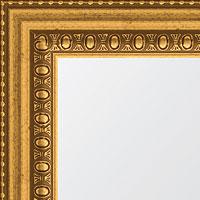 Бусы золотые (ширина 4,5 см)