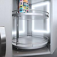 Механизмы для верхних угловых шкафов
