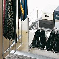 Механизмы и сетки для платяных шкафов