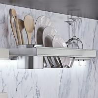 Полка для посуды большая 755х160х120 мм