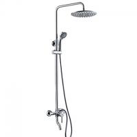 Душевой комплект со смесителем для ванны, 84/125х58 см