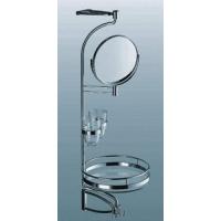 Комплект для ванной,  зеркало + 1 полка,  стекло, Н 800 мм