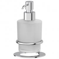Емкость для жидкого мыла стеклянная настольная