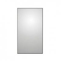 Зеркало в металлической раме с розеткой и выключателем