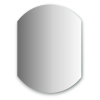 Зеркало (70х90 см, хром)