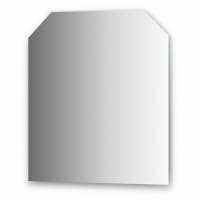 Зеркало (70х80 см, хром)