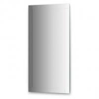Зеркало с зеркальным обрамлением  (60х120 см, хром)