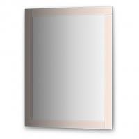 Зеркало с зеркальным обрамлением, цвет хром (70х90 см)