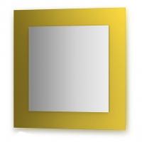 Зеркало  (70х70 см, желтый)