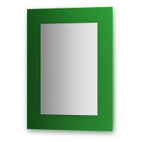 Зеркало  (60х80 см, зеленый)