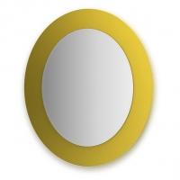 Зеркало  (70х80 см, желтый)