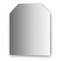 Зеркало  (55х65 см, цвет хром)