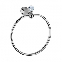 Полотенцедержатель-кольцо с кристаллами Swarovski