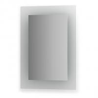 Зеркало со встроенными светильниками (50х70 см, хром)