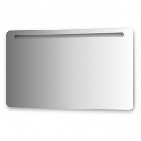 Зеркало со встроенным светильником (120х70 см)