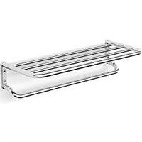 Полка для полотенца прямая 60 см 2-этажная