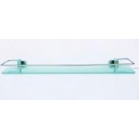 Полка стеклянная 60 см с ограничителем