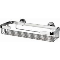 Полочка - решетка металлическая хром