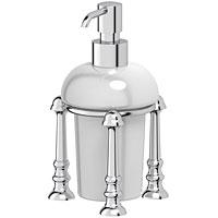 Емкость для жидкого мыла настольная (фарфор)