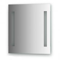 Зеркало со встроенными светильниками (50х55 см)