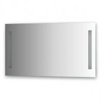 Зеркало со встроенными светильниками (100х55 см)