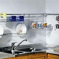 Аксессуары для кухонных ниш (рейлинги). Программа Linero