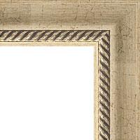 Состаренное серебро с плетением 70 мм