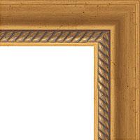 Состаренное золото с плетением 70 мм