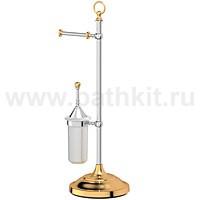 Стойка комбинированная для туалета 3SC Stilmar (хром/золото) - фото