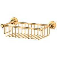 Полочка-решетка 31 см 3SC Stilmar (золото) - фото
