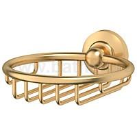 Мыльница-решетка 3SC Stilmar (матовое золото) - фото