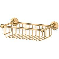 Полочка-решетка 31 см 3SC Stilmar (матовое золото) - фото