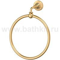 Кольцо для полотенца 3SC Stilmar (матовое золото) - фото