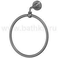Кольцо для полотенца 3SC Stilmar Античное серебро - фото
