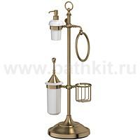Стойка комбинированная для биде и туалета 3SC Stilmar (античная бронза) - фото