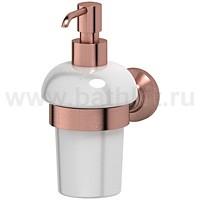 Держатель с емкостью для жидкого мыла (фарфор) 3SC Stilmar - фото