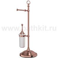 Стойка комбинированная для туалета 3SC Stilmar (античная медь) - фото