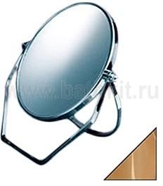 Зеркало косметическое настольное D=180 - фото