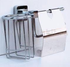 Бумагодержатель + освежитель воздуха Rainbowl Cube - фото