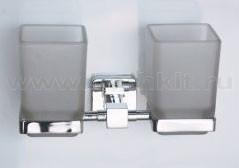 Держатель двойной квадратный Rainbowl Cube - фото