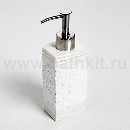Настольный дозатор для мыла WasserKraft Main K-4799 (240 мл) - фото