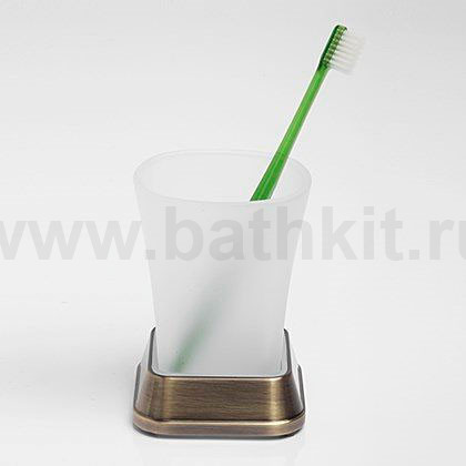 Стакан для зубных щеток WasserKraft Exter K-5528 - фото
