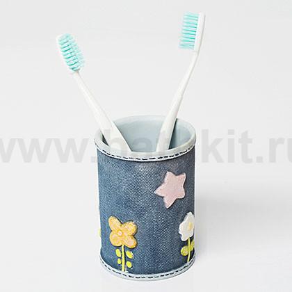 Стакан для зубных щеток WasserKraft Lossa K-3428 - фото