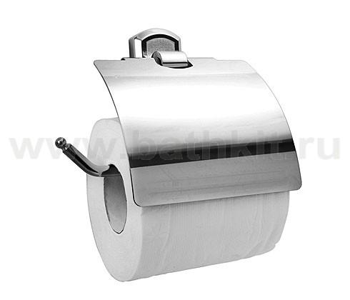 Держатель туалетной бумаги с крышкой WasserKraft Oder, артикул K-3025 - фото
