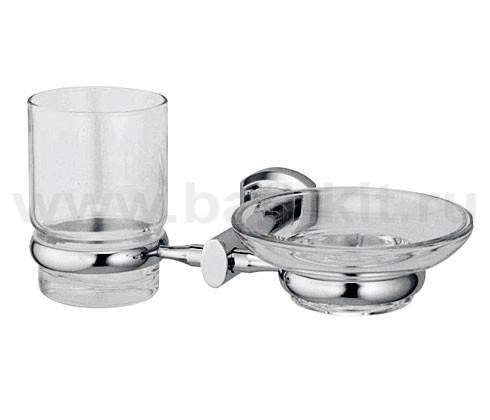 Держатель стакана и мыльницы WasserKraft Oder K-3000 - фото