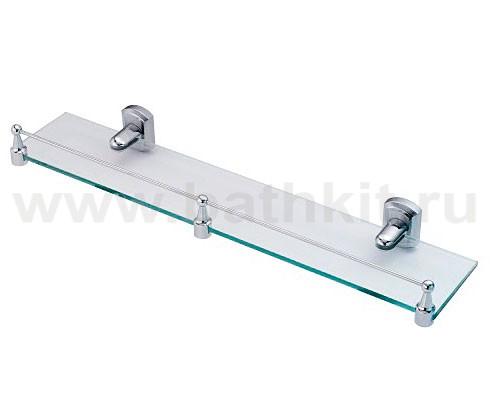 Полка стеклянная с бортиком WasserKraft Oder K-3000 - фото