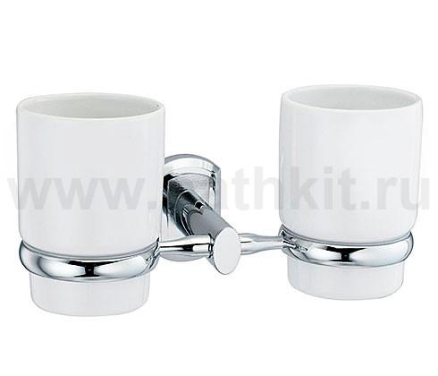 Подстаканник двойной WasserKraft Oder K-3000 - фото