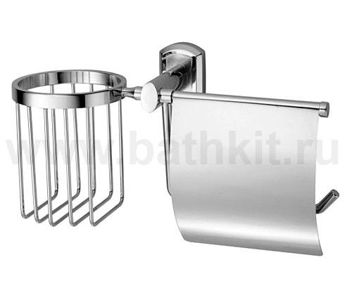 Держатель туалетной бумаги и освежителя WasserKraft серия Oder K-3000 - фото