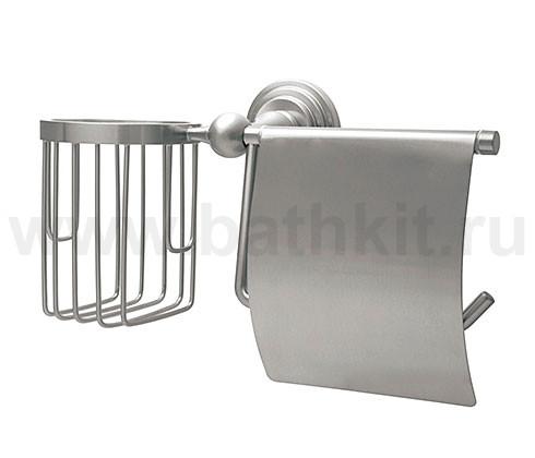Держатель туалетной бумаги и освежителя WasserKraft Ammer К-7000 - фото