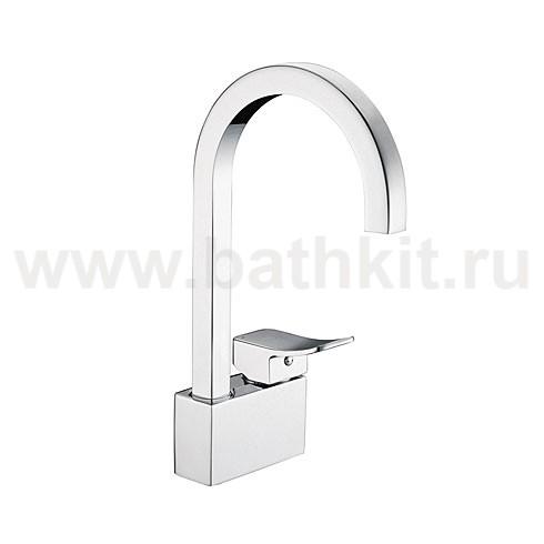 Смеситель для кухни WasserKraft Aller 1067 с поворотным изливом - фото
